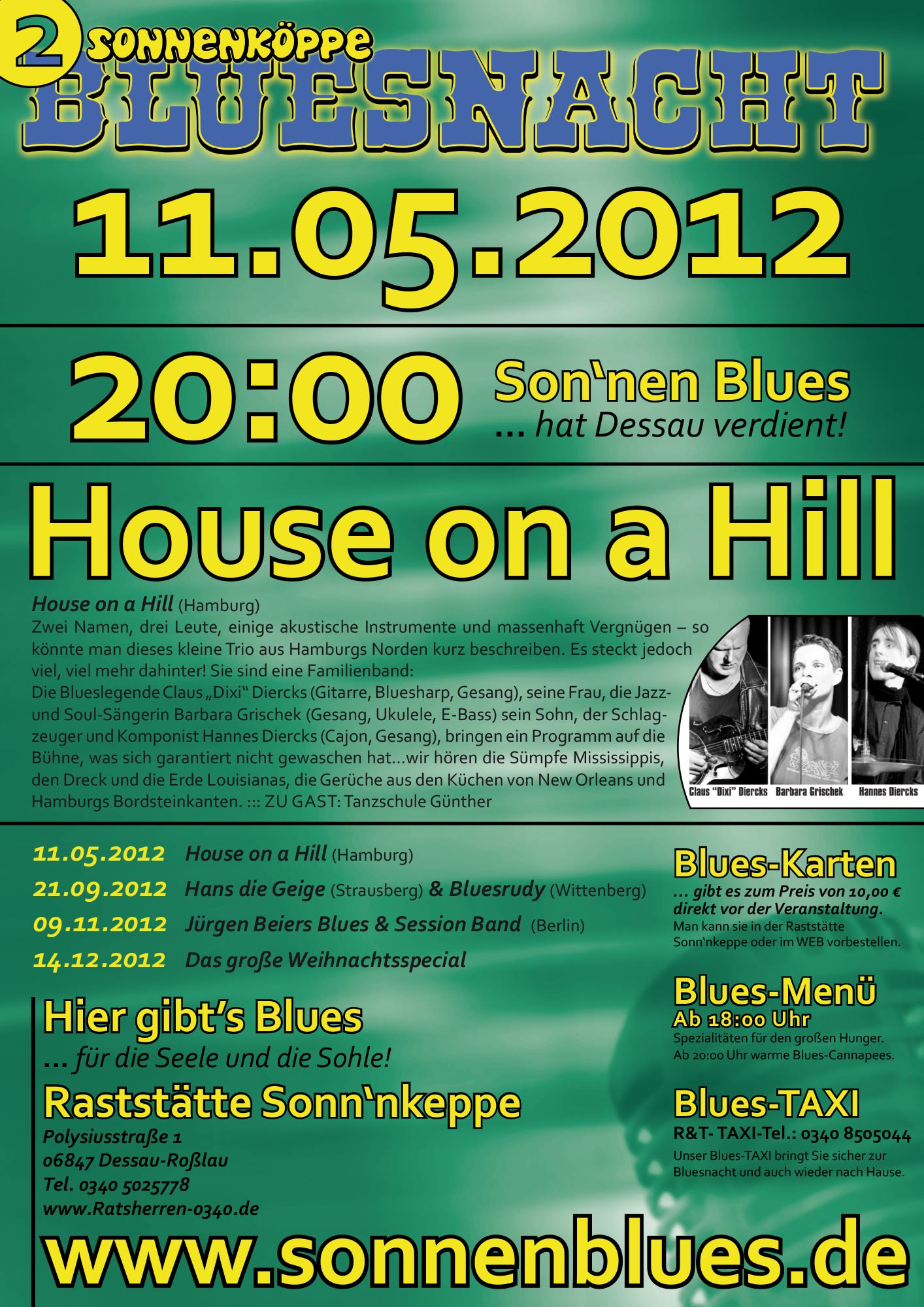 Bluesnacht #2 - House on a Hill