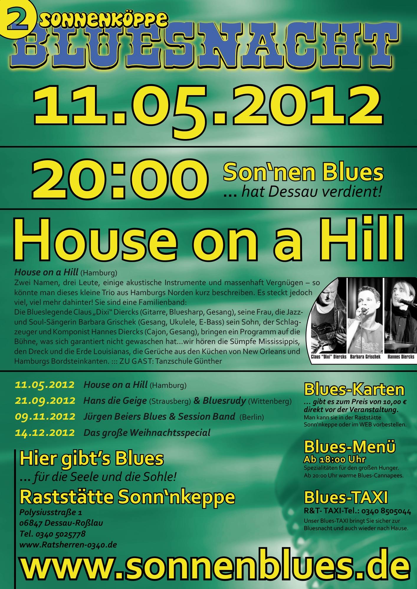 Bluesnacht #2 - House on a Hill
