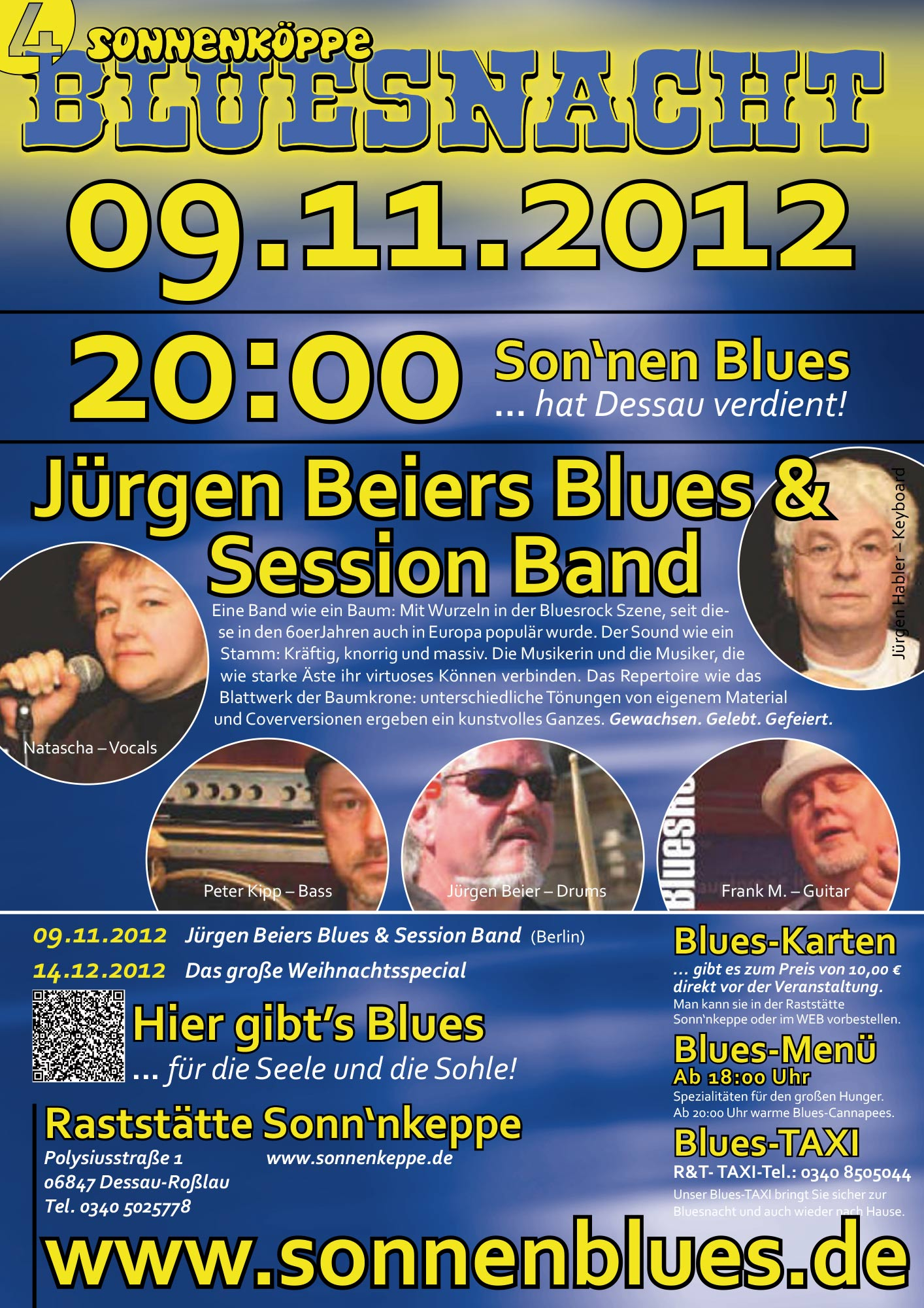 Bluesnacht #5 - Jürgen Beier Blues & Session Band